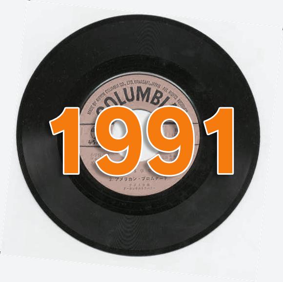 1991年(平成3年) 年間シングルヒットチャート